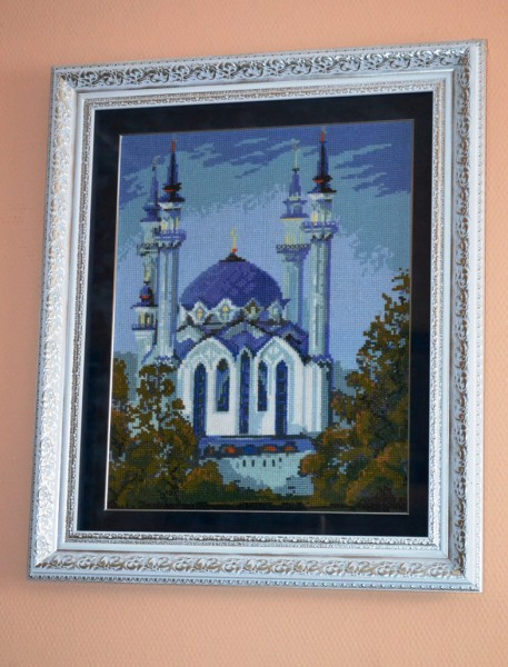 Вышивка мечеть кул шариф готовые работы 517